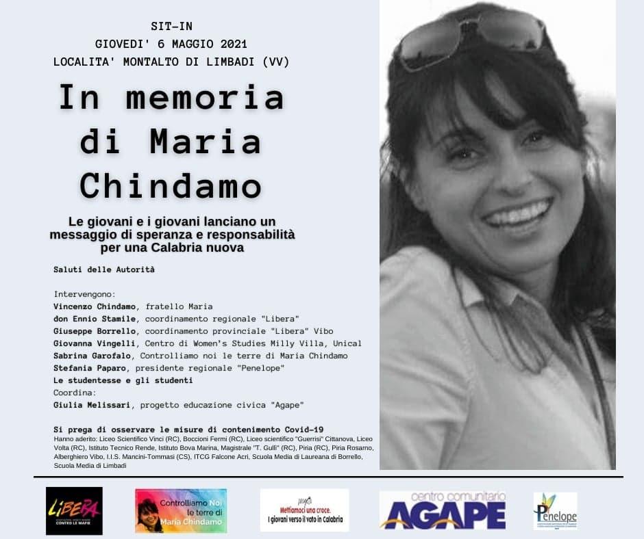 Sit-in del 6 maggio per Maria Chindamo